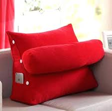 bed rest pillow removable cover good bed backrest pillow or massaging bed rest pillow with heat 13