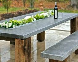 Concrete Patio Tables And Benches Concrete Patio Furniture Clearance Concrete Tile Patio Table Bench