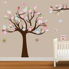 Nursery Owl Wall Decals Children Wall Decal Baby Nursery Wall Stickers Owl Wall Decal