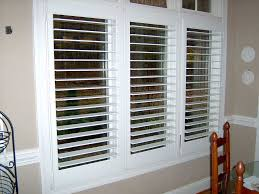 3 inch perfect view plantation shutters look fresh with an open