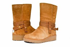 s ugg australia brown leather boots ugg australia chestnut s aysel 1019130 boots booties size us