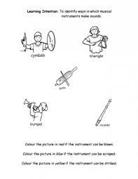 instruments teaching ideas