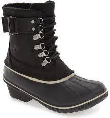 sorel womens boots size 11 sorel womens black winter fancy ii waterproof lace up boots size