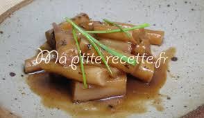 cuisiner salsifis salsifis au jus recette accompagnement salsifis