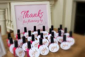 bridal shower gift ideas for guests pink nail for baby shower gift ideas for guests baby shower