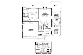 Mediterranean House Floor Plan And Design by Mediterranean House Plans Strasbourg 30 146 Associated Designs