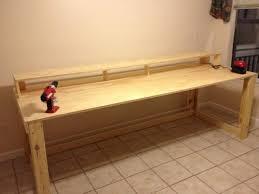 Reclaimed Wood Desk Diy Reclaimed Wood Table Faux Reclaimed Plank Tabletop View In