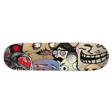 Skateboard Meme - meme skateboard decks zazzle