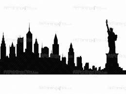 new york skyline wall decals vdv1013en artpainting4you eu new york skyline cities travel wall decals