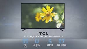 amazon black friday tv deals tcl tcl 55us57 55 inch led uhd 4k tv full specs review 55us57