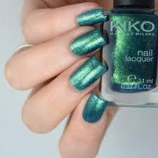 kiko 532 pearly amazon green swatches and nail art nailpolis