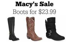 womens boots at macys macy s sale boots for 23 99 more deals southern savers