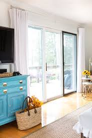 Curtains For Sliding Glass Door How To Make Wide Drapes For Sliding Glass Doors In My Own