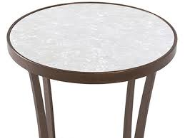 charleston forge drink tables charleston forge lotus drink table with pearl glass top cf03