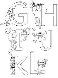 sesame street print template sesame street coloring pages 2nd