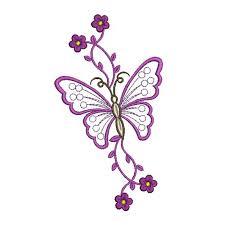 flower machine embroidery design butterfly flower designs folk