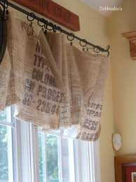 Burlap Curtains With Fringe Kitchen Smocked Best Lined Burlap 2017 With Curtains Images Window