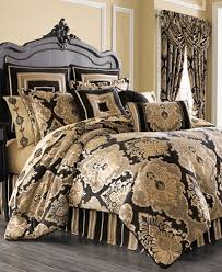 j new york bradshaw black comforter sets bedding collections