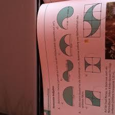 kreisberechnung fläche umfang und flächeninhalt der gefärbten fläche mathe formel kreis