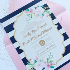 navy and blush wedding invitations hadley designs featured invitations