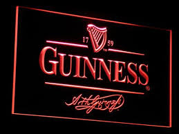 light up beer signs guinness beer sign home bar pub signs that light up light signs cave