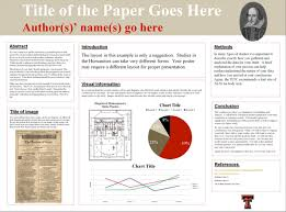 academic paper presentation template academic poster template