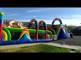 party rentals riverside ca rainbow obstacle course in menifee jumpers in moreno valley ca