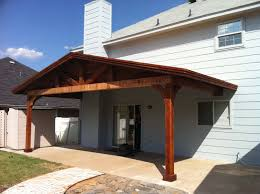How To Build A Freestanding Patio Roof by Wide Backyard Patio Cover Shades Large Backyard Sherman Tx