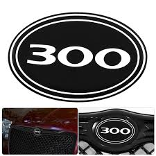 jeep grill sticker amazon com for chrysler 300 300c logo emblem badge black diamond