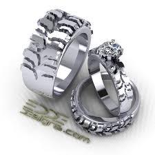 cool wedding bands mud tire tread wedding rings cool wedding bands