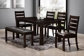 dining room table sets with bench best 25 glass dining room table