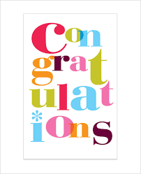 congratulations card congratulations card template 24 free sle exle format