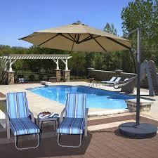 The Patio Freeport Ny Island Umbrella Freeport 12 5 U0027 Cantilever Umbrella U0026 Reviews Wayfair