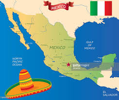 Colima Mexico Map by Mexico Map Vector Art Getty Images