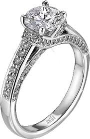 Kay Wedding Rings by Scott Kay Pave Diamond Engagement Ring 38ct Tw M1214rd10