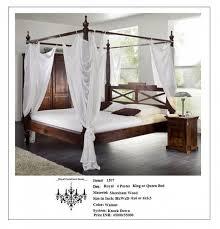 Poster Bed Frame Royal Furniture Decor 4 Poster Bed Royal Furniture Decor