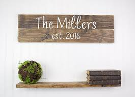signs and decor personalized family name sign personalized wedding