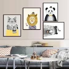 Aliexpresscom  Buy Art Prints Poster Wall Picture Canvas - Canvas paintings for kids rooms