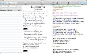 songbook on the mac app store