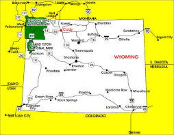 map of thermopolis wyoming about trolley tours wyoming