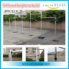 wedding backdrop frame aluminum wedding backdrop stand dci pipes and fittings buy dci