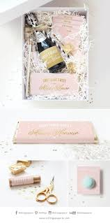 bridesmaids invitation boxes best 25 of honour gifts ideas on asking of
