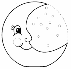 moon coloring pages coloring pages pinterest coloring pages