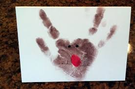 junk in their trunk kids handprint christmas thank you cards