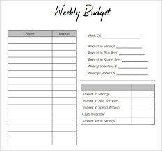 budget bills template simple weekly budget template expin franklinfire co