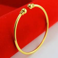 mens gold hand bracelet images Young men and women do not fade gold bracelet 24k gold plated jpg