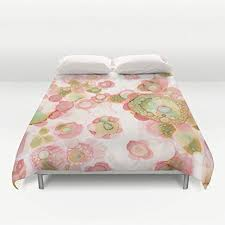 Original Duvet Covers Amazon Com Funky Unique Shabby Chic Duvet Cover Floral Watercolor