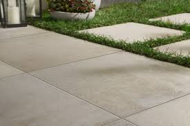 outdoor patio tile garden design