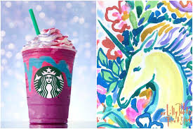 Lilly Pulitzer For Starbucks Lilly Pulitzer Unicorn Print Goes Viral Teen Vogue