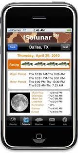 free solunar tables hunting isolunar hunting fishing times solunar table iphone app